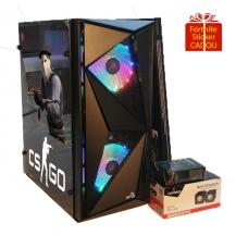 Calculator Gaming RGB Tower Intel Core i5-3330 2,70GHz, Video Nvidia GT730 4Gb DDR3, 128 bits, 8Gb DDR3, HDD 1TB