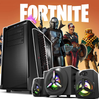 LICHIDARE! Calculator Gaming Fortnite Core i5 3.10GHz, 8GB DDR3, Video 2Gb DDRx 128Bits 500GB SATA DVD - Fortnite, GTA5, CS-GO