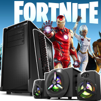 LICHIDARE! Calculator Gaming Fortnite Core i3 3.10GHz, 8GB DDR3, Video 2Gb DDRx 128Bits 500GB SATA DVD - Fortnite, GTA5, CS-GO