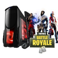 Calculator Gaming Fortnite Tower Intel Core i3-2100 3,10GHz 8Gb DDR3, Video 2Gb DDRx 128Bits 500 GB HDD - GTA5, CS-GO, Fortnite