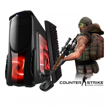 Calculator Gaming Fortnite Tower Intel Core i7-3770 3,40GHz , 16GB DDR3, Video 4Gb DDRx 128/256Bits, 500 GB HDD - GTA5, CS-GO, Fortnite