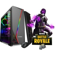 Calculator Gaming Fortnite Tower Intel Core i3-4130 3,40GHz , 8Gb DDR3 Video 4Gb DDRx 128/256Bits 500 GB HDD - GTA5, CS-GO, Fortnite