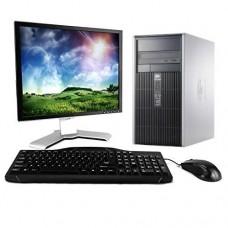 Pachet PC+LCD HP DC5750 MT, AMD Athlon 64 3500+, 2.20GHz, 2GB DDR2, 80GB SATA, DVD-ROM