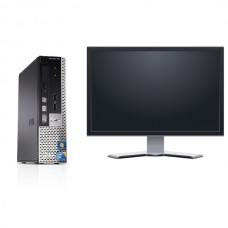 Pachet PC+LCD Dell OptiPlex 760 Desktop , Intel Core 2 Duo E5800, 3.2Ghz, 4Gb DDR2, 250Gb, DVD-RW ***