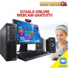 Pachet Scoala Online Webcam Gratuit Core 2 Duo / Quad E/Qxx 2.40-3.00GHz, 4Gb DDR3, 160Gb-250Gb HDD SATA