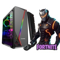 Calculator Gaming Fortnite Tower Intel Core i5-2400 3,40GHz , 16Gb DDR3, 500 GB HDD, Placa video XFX AMD Radeon RX 470 DD, 8GB GDDR5, 256-bit, HDMI, Display Port, DVI - GTA5, CS-GO, Fortnite