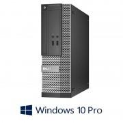 Calculatoare Dell OptiPlex 3020 SFF, Quad Core i5-4570, 8GB RAM, Windows 10 Pro