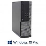 Calculatoare Dell OptiPlex 3020 SFF, Quad Core i7-4770, 8GB RAM, Windows 10 Pro