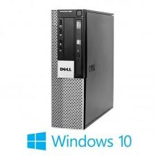 Calculatoare Dell Optiplex 960 SFF, Core 2 Duo E8400, Windows 10 Home