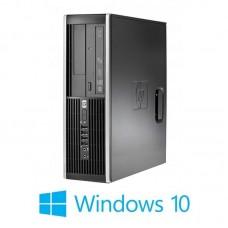 Calculatoare HP Compaq 8000 Elite SFF, Core 2 Duo E8400, Windows 10 Home