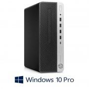 Calculatoare HP ProDesk 600 G5 SFF, Hexa Core i7-8700T, 512GB SSD M.2, Win 10 Pro