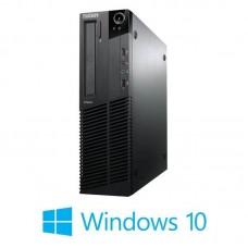 Calculatoare Lenovo ThinkCentre M78 SFF, AMD A4-5300B, Windows 10 Home