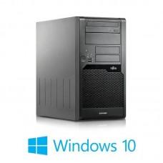 Calculatoare Fujitsu ESPRIMO P5730, Core 2 Duo E7400, Win 10 Home