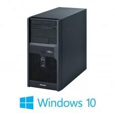 Calculatoare Fujitsu ESPRIMO P7936, Core 2 Duo E8400, Win 10 Home