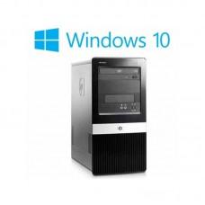Calculatoare HP Compaq DX2420 MT, Dual Core E5200, Win 10 Home