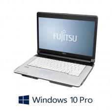 Laptop refurbished Fujitsu LIFEBOOK S710, Intel Core i5-520M, Win 10 Pro