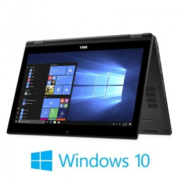Laptop Touchscreen Dell Latitude 5289, i5-7300U, SSD, FHD, Win 10 Home