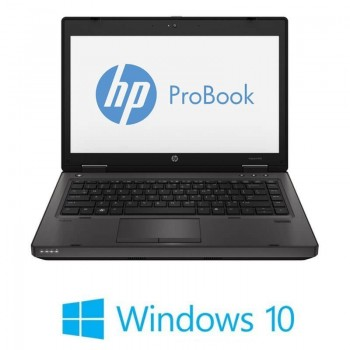 Laptopuri HP ProBook 6470b, Intel Core i3-3110M, Webcam, Windows 10 Home