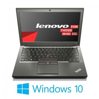 Laptopuri Lenovo ThinkPad X250, Intel i7-5600U, 8GB DDR3, Webcam, Win 10 Home