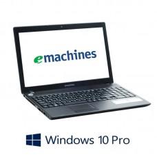Laptopuri Refurbished Acer eMachines eME642, Athlon II P340, Webcam, Win 10 Pro