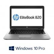 Laptopuri Refurbished HP EliteBook 820 G1, i7-4600U, SSD, Webcam, Win 10 Pro