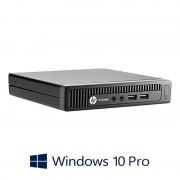 Mini PC HP ProDesk 600 G1, Quad Core i5-4570T, Windows 10 Pro