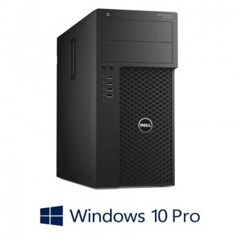 Workstation Refurbished Dell Precision 3620 MT, i5-6500, Quadro K2200, Win 10 Pro