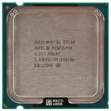Procesor Intel Pentium Dual Core E5500, 2.80 GHz, 2Mb Cache, 800 MHz FSB