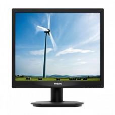 Monitor PHILIPS 17S1, 17 Inch LCD, 1280 x 1024, DVI, VGA, Fara picior