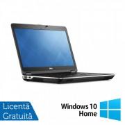 Laptop DELL Latitude E6440, Intel Core i5-4300M 2.60GHz, 4GB DDR3, 120GB SSD, DVD-RW, Full HD, Fara Webcam, 14 Inch + Windows 10 Home