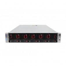 Server HP ProLiant DL560 G8 2U, 4 x CPU Intel Hexa Core Xeon E5-4610 2.40GHz - 2.90GHz, 768GB DDR3 ECC, 3 X SSD 480GB + 2 x HDD 1.2TB SAS/10k, Raid P420i/1GB, iLO4 Advanced, 4 Port xGigabit, 2x Surse Hot Swap