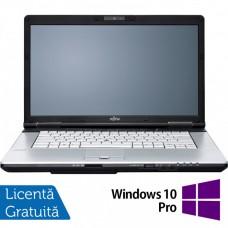 Laptop FUJITSU SIEMENS E751, Intel Core i5-2430M 2.40GHz, 4GB DDR3, 120GB SSD, DVD-RW, 15.6 Inch, Webcam + Windows 10 Pro