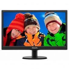 Monitor LCD Philips 203V5L, 20 Inch, 1600 x 900, VGA