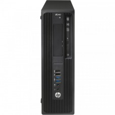 Workstation HP Z240 Desktop, Intel Xeon Quad Core E3-1230 V5 3.40GHz-3.80GHz, 16GB DDR4, SSD 480GB SATA, nVidia K620/2GB, DVD-RW