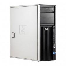 WorkStation HP Z400, Intel Xeon Quad Core W3520 2.66GHz-2.93GHz, 8GB DDR3, 500GB SATA, AMD Radeon HD 7350 1GB GDDR3, DVD-RW
