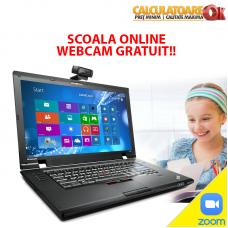 Laptop Scoala Online Webcam Lenovo ThinkPad L520, Intel Core i3-2350M, 2.3Ghz, 4Gb DDR3, 500Gb HDD, DVD-RW, 15.6 inch, LED backlight
