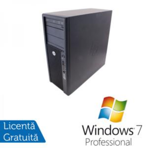 Workstation HP Z210, Intel Core I7-2600 Gen. II, 3.4Ghz, 8Gb DDR3, 320Gb SATA, DVD-RW + Windows 7 Professional