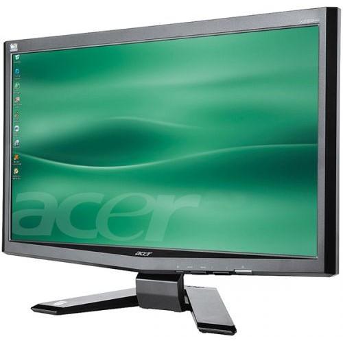 Monitor ACER X223HQ , 22 inci Wide, 1680 x 1050 pixel VGA, DVI