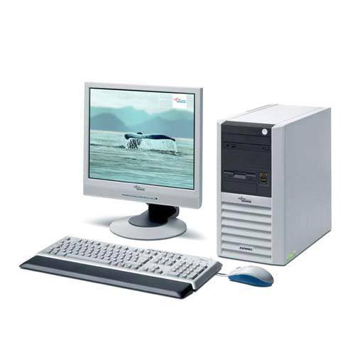 Pachet Fujitsu P9515 Core 2 Duo E7400 2.8GHz 2GB DDR2 80GB HDD Sata, DVD-ROM + Monitor 15 inch LCD***