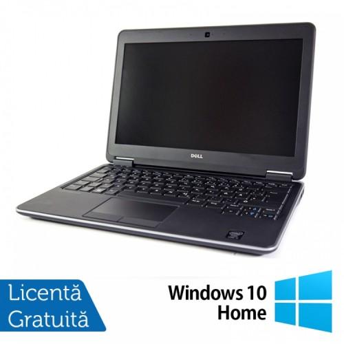 Laptop DELL Latitude E7240, Intel Core i7-4600U Generatia a 4-a 2.10GHz, 8GB DDR3, 256GB SSD + Windows 10 Home