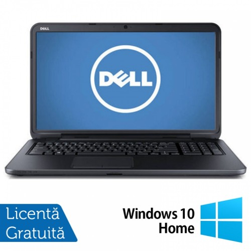 Laptop DELL Inspiron 3721, Intel Core i3-3227U Generatia a 3-a 1.90GHz, 4GB DDR3, 500GB SATA, DVD-RW, 17.3 inch + Windows 10 Home