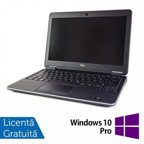Laptop DELL Latitude E7240, Intel Core i7-4600U Generatia a 4-a 2.10GHz, 8GB DDR3, 256GB SSD + Windows 10 Pro