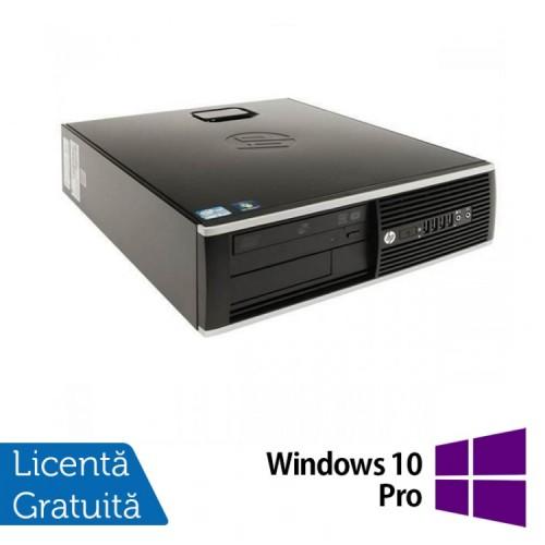 Calculator HP 8200 Elite SFF, Intel Core i3-2100 3.1GHz, 4GB DDR3, 160GB SATA, DVD-RW + Windows 10 Pro