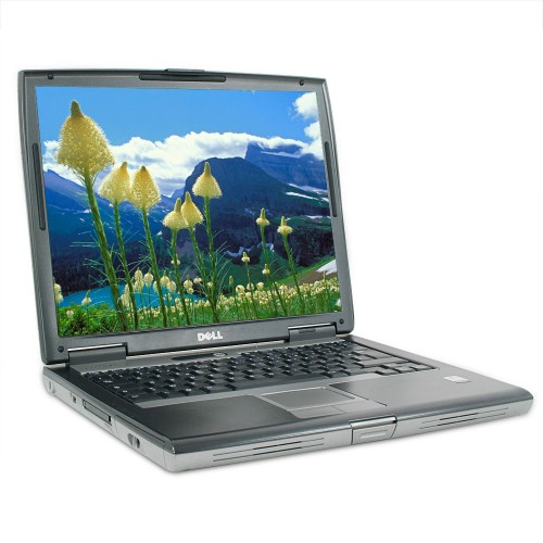 Laptop second hand Dell Latitude D520, Intel Celeron M 1.60Ghz, 1GB DDR2, 40GB HDD, DVD-ROM 14 Inch ***