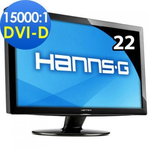 Promo Monitor HANNS-GHZ221, 22 inci LCD, 1680 x 1050 pixeli, Widescreen, 16:10