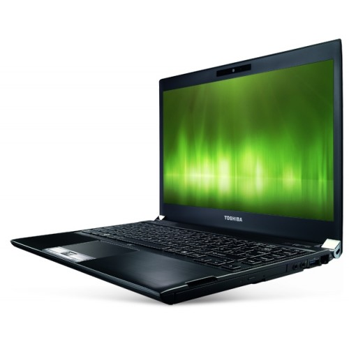 Notebook Toshiba R830 i5-2520M 2.6Ghz 4GB DDR3, 128GB SSD Sata DVD-RW, display 13.3 inch wide, webcam, LED