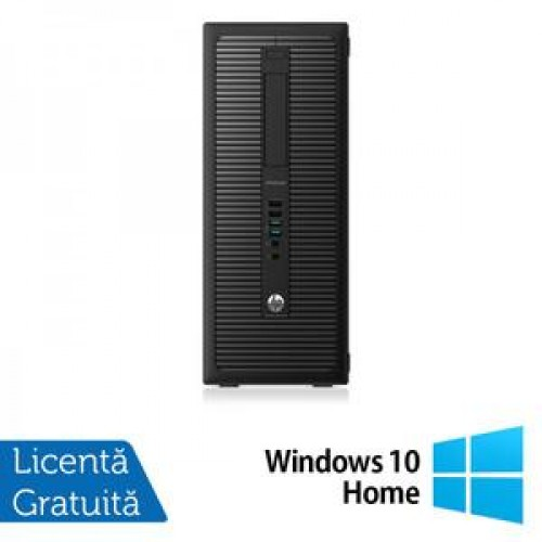 Calculator HP EliteDesk 800G1 Tower, Intel Core i7-4770 3.40GHz, 8GB DDR3, 500GB SATA, DVD-RW + Windows 10 Home