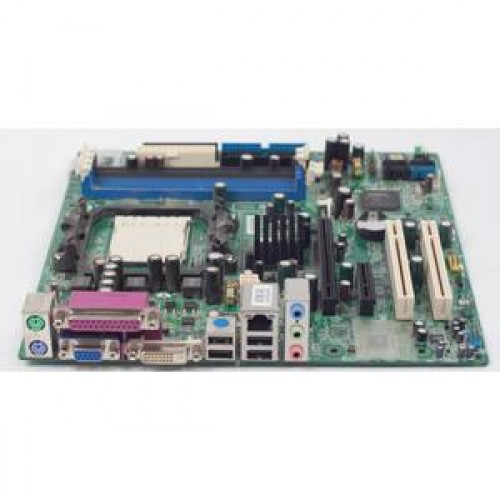 Placa de baza MSI MS-7295 VER 1.0, DDR2, SATA, Socket AM2 + Procesor AMD Athlon64 X2 4600 2.4GHz + Cooler + Shield + Radiator