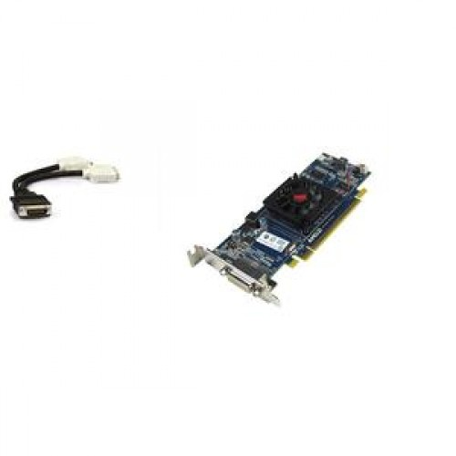 Placa video ATI Radeon HD 5450, 512MB, XF27T DMS-59 Vc + adaptor DMS-59 la 2 x DVI