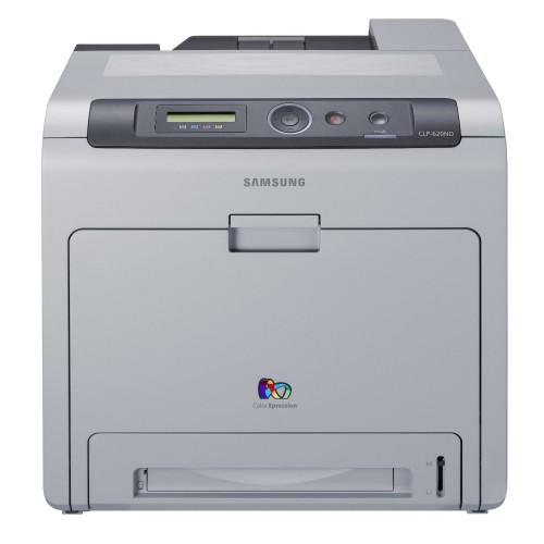 Imprimanta Laser Color A4 Samsung CLP-620ND, 20 ppm, Duplex, Retea, USB 2.0
